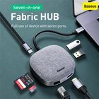 Acheter au meilleur prix Baseus 7 in 1 Type-C HUB 3.0 to HDMI RJ45 Multi USB Adapter For Macbook Pro HUB USB C Splitter Laptop