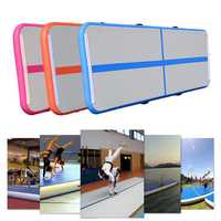 118x20x4inch Inflatable Gymnastic Air Track Floor Home Gym Tumbling Mat Pad