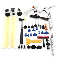 Paintless Repair Slide Hammer Hail Removal Dent Puller Glue Stick Tool Kits