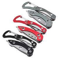 IPRee® 110mm 420H Steel 13 In 1 Folding Cutter Pliers Survival Multifunctional Tools Kit