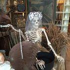 Acheter au meilleur prix 170cm Halloween Skeleton Poseable Decorations Life Size Party Decoration Gift PVC
