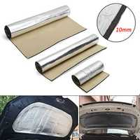 Aluminum Foil 10mm Thickness Car Sound Insulation Cotton Mat Heat Thermal Proofing Pad