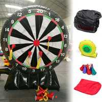 3M/9.85ft Outdoor Durable Game Giant Inflatable Dart Board with Air Blower 220V Toys