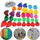 Cheap Discount Children's Climbing Wall Stones Holds Hand Feet Starter Kit Rock Holder w/Screws