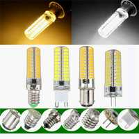 Dimmable E11 E12 E14 E17 G4 G9 BA15D 4W 80 SMD 5730 LED Pure White Warm White Light Lam Bulb AC220V