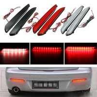 2pcs LED Rear Bumper Turn Signal Light Brake Tail Stop Running Lamp For Mazda 3 2010-2013