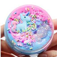 Unicorn Cotton Mud Slime Multi-color Candy Clay Plasticine Foam DIY Toy