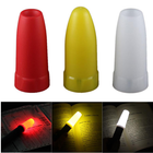 Meilleurs prix Convoy 24.5mm LED Flashlight White/Yellow/Red Diffuser Convoy S2 S3 S4 S5 S6 S7 S8 Flashlight Accessories