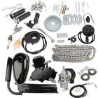 Meilleurs prix Upgraded 80cc 2 Stroke Motorized Bicycle Gas Engine Motor Kit with Speedometer Black