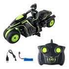Discount pas cher JDRC SY003 1/18 2.4G Rc Car Side-row Drift Stunt Motorcycle Support Multi-player RTR Toys