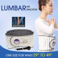 Physio Relief Belt Air Pump Traction Decompression Lumbar