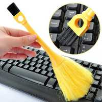 Multi-Function Mini Keyboard Vehicle Anti-Static Dust Brush Desktop Sweeper Cleaning Home Dusting Brush