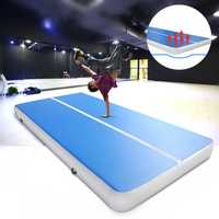 236.2x39.4x3.94inch PVC Inflatable GYM Air Track Mat Airtrack Gymnastics Mat Cheerleading Training Equipment