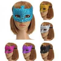 Colorful Venetian Glitter Mask Masquerade Costume Ball Mask Party Supplies