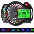 Offres Flash 12V 15000RPM Motorcycle Speedometer Odometer Adjustable Waterproof LCD Digital