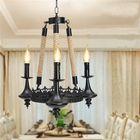 Recommandé E14 3 Heads Iron Chandelier Living Room Dining Room Ceiling Light Pendant Light AC110-220V