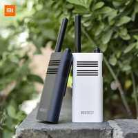 XIAOMI Mijia BeeBest A208 Handheld Walkie Talkies 5W 1-5KM Two Way Radio White 2000mAh/ Blue 3350mAh for Outdoor Indoor Building Security