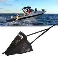 Mounchain 18 '/32 '/42 '/53 ' Sea Drogue Float Marine Kayak Drift Anchor 15-30ft Rowing Sock Brake Boat Fishing Canoe