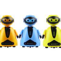 Smart RC Robot Tracking Patrol Robot Toy Gift For Children