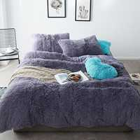 Winter Velvet Queen Bedding Sets Mink Velvet Warm Bed Linings Bedding Kits