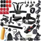 Bon prix 51 in 1 Floating Bobber Monopod Hand Head ChesT-strap Adapter Mounts Accessories Kit Sets for GoPro
