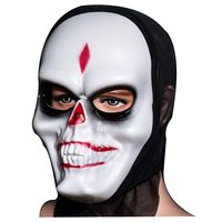 Halloween Skull Mask Bar Dance Horror Scary Soul Props Demon Devil