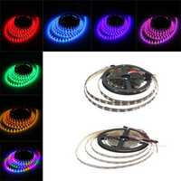 4M 240LEDS WS2812B Non-Waterroof 5050 RGB LED Strip Light Individual Addressable DC 5V