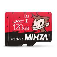 Mixza Year of Monkey Limited Edition 128GB U1 TF Micro Memory Card for Digital Camera MP3 TV Box Smartphone