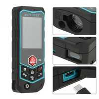 Mileseey 60m 80m 100m R2 Series Portable Laser Rangefinder Range Finder Distance Area Volume Meter Tester Too