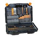 Offres Flash 246Pcs Stainless Steel Twist Drill Bit Set High Speed Steel Manual Twist Drill Bits