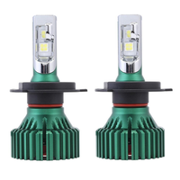 NovSight A384-N8 LED Car Headlights Bulbs 60W 16000LM H4 H7 H11 9005 9006 6500K White