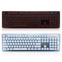 LT600 104Key Wireless Silent Gaming Keyboard and Mouse Combo with Mouse Pad