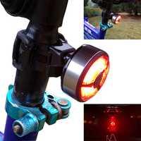 XANES TL08 120LM COB LED 5 Modes IPX4 Waterproof Bike Tail Light USB Charging Warning Light
