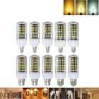 Meilleurs prix E27 E17 E14 E12 B22 9W 100 SMD 5736 LED Pure White Warm White Natural White Corn Bulb AC85-265V