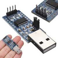 5pcs FT232 USB UART Board FT232R FT232RL To RS232 TTL Serial Module 52 x 17 x 11mm