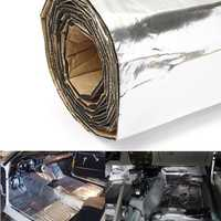 200x100cm Firewall Sound Deadener Car Heat Shield Insulation Deadening Material Mat