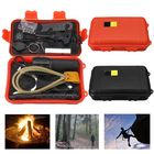 Meilleurs prix Outdoor 7 In 1 EDC Survival Tools Case SOS Emergency Multifunctional Kits Box Camping Hiking