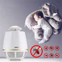 REMAX RT-MK02 USB Suction Electronic Bug Insect Mosquito Killer Trap LED Lamp Night Light