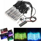Offres Flash 12x LED Remote Wireless Neon Light Strips Kit For Car Truck Lorry Boat Motor Bike