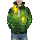 Promotion Unisex 3D Hoodies Sweatshirt Gift Green Forest Pullover Casual Hooded Tracksuit Drawstring Sweater