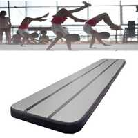 157.48x35.43x3.93inch Inflatable GYM Air Track Mat Airtrack Gymnastics Mat Practice Training Pad