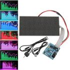 Recommandé 16X32 Colorful Music Spectrum STM32 LED Lights Frequency Display Assembled Dot Matrix Board