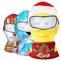 Christmas Face Mask Christmas Winter Skiing Cap Cycling CS Hat