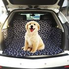 Discount pas cher Oxford Cat Claws Pattern Car Pet Trunk Mat Waterproof Anti-dirty Cargo Seat Cover