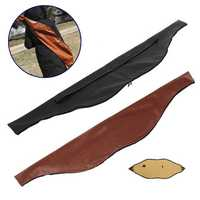145X27cm Archery Recurve Bow Bag PU Leather Traditional Bow Carrying Case Holder Arrow Shooting Hunting Outdoor Sports Accessories