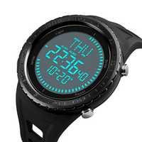 SKMEI 1342 Compass Chronograph Digital Calendar Men Watch