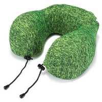 Honana Thickened Green Slow Rebound Memory Foam Neck Protection U Shape Pillow Storage Bag Travel Pillow