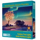 Bon prix Wood Luminous Puzzle Adult Children Decompression Leisure Jigsaw Puzzle Toy Educational School Supplies 1000 Pcs