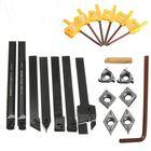 Wholesale Price Machifit 7pcs 10mm Shank Lathe Turning Tool Holder Boring Bar With Carbide Inserts