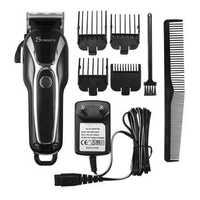 SURKER Electric Hair Clipper Trimmer LED Display Steel Blade Washable Rechargeable 110V 240V